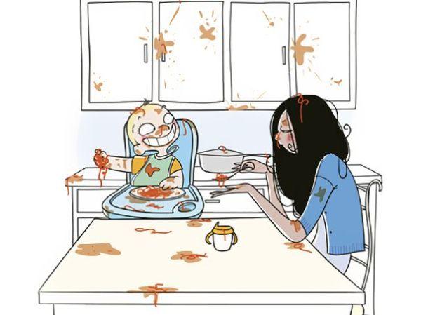 17 αστεία σκίτσα για την μητρότητα! | imommy.gr