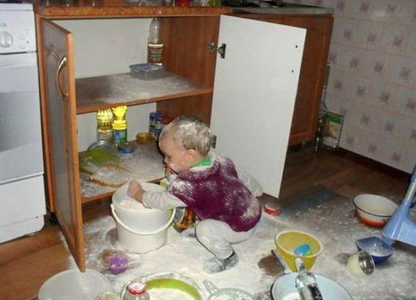 Ξεκαρδιστικό: Τι συμβαίνει όταν αφήνεις μόνο του το παιδί; | imommy.gr
