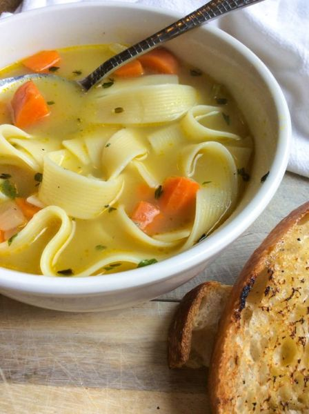 Η πιο γρήγορη και λαχταριστή σούπα ζυμαρικών | imommy.gr