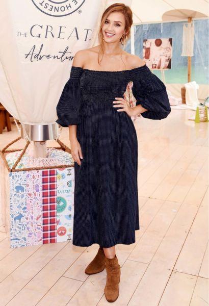 Τζέσικα Άλμπα: Τα 10 ωραιότερα της maternity looks | imommy.gr