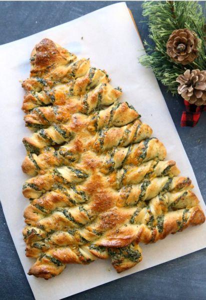 Πίτα με σπανάκι Χριστουγεννιάτικο δέντρο | imommy.gr