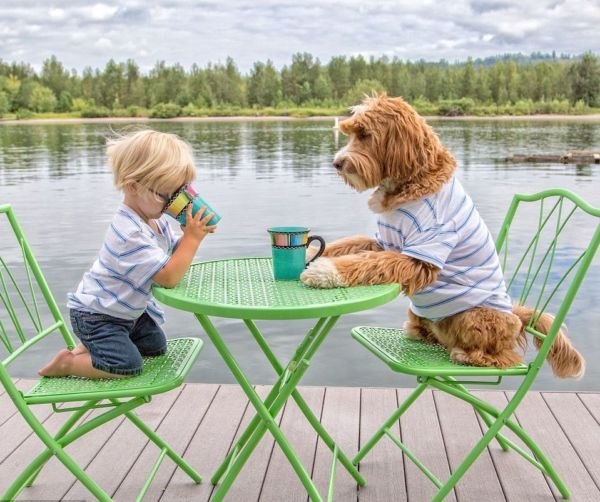 Η συγκινητική σχέση ενός τρίχρονου πιτσιρικά και του σκύλου του | imommy.gr