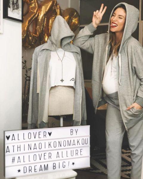 Αθηνά Οικονομάκου: Τα ωραιότερα της maternity looks | imommy.gr