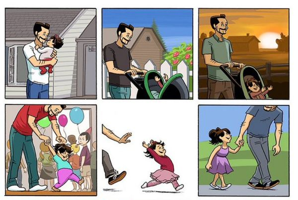 Ένα συγκινητικό κόμικ αφιερωμένο στους μπαμπάδες…και όχι μόνο! | imommy.gr