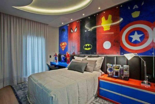 Οι υπερήρωες μεταμορφώνουν το δωμάτιο των παιδιών σας | imommy.gr