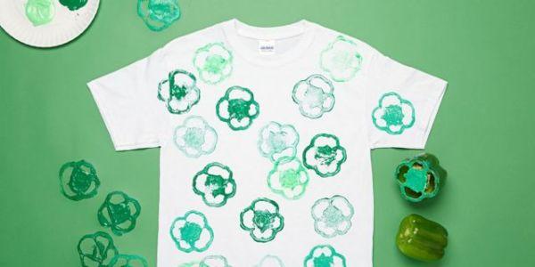 Φτιάξτε μόνοι σας το πιο ανοιξιάτικο μπλουζάκι με… πιπεριές | imommy.gr