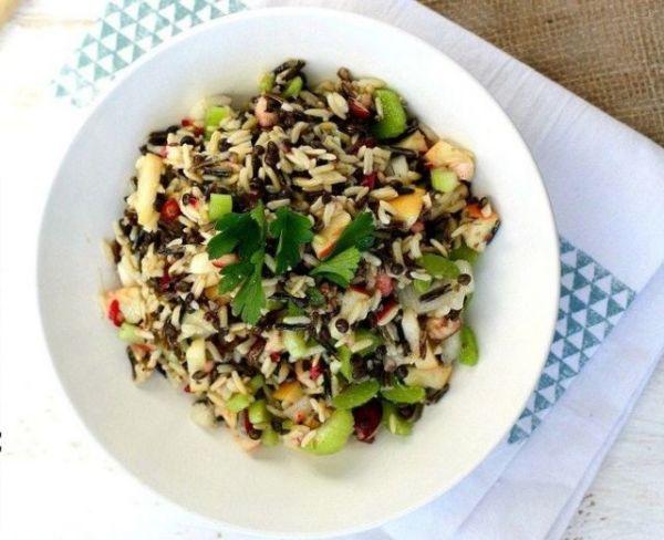 Καλοκαιρινή σαλάτα με φακές και ρύζι | imommy.gr