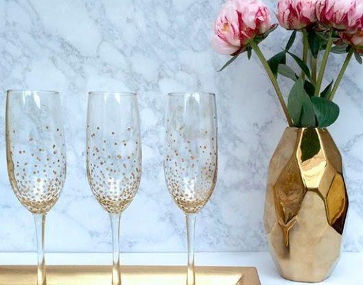 Αναβαθμίστε τα ποτήρια σας με βερνίκι νυχιών | imommy.gr