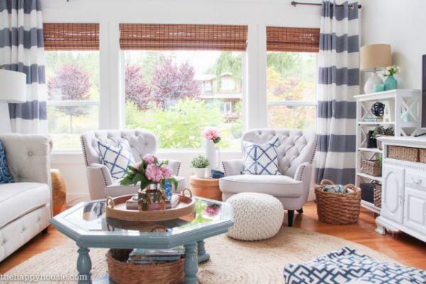Καλοκαιρινές κουρτίνες για το σαλόνι σας | imommy.gr