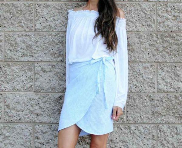 Φτιάξε μόνη σου την πιο καλοκαιρινή φούστα με ένα μαντήλι | imommy.gr
