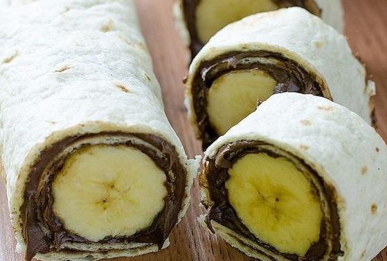 Σούσι με μπανάνα και πραλίνα σε 5 λεπτά | imommy.gr