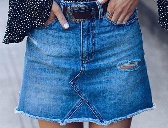 Μετατρέψτε το παλιό σας τζιν παντελόνι σε φούστα | imommy.gr