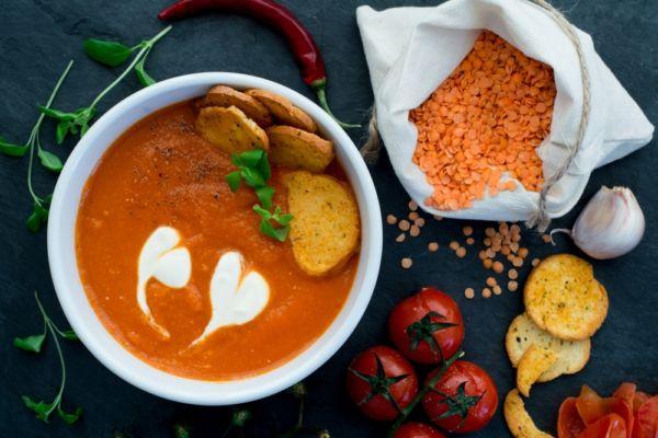 Σούπα με κόκκινες φακές   imommy.gr