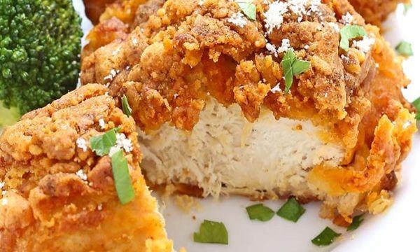 Ψητό κοτόπουλο με παρμεζάνα και πάπρικα | imommy.gr
