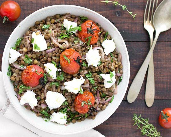 Μεσογειακή σαλάτα με φακές | imommy.gr