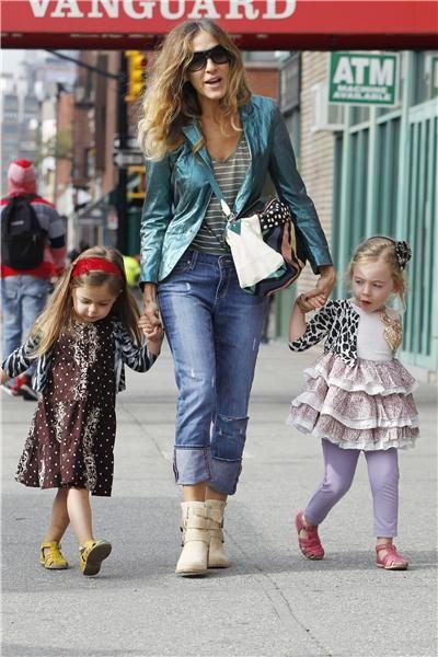 Σάρα Τζέσικα Πάρκερ: «Οι κόρες μου διαλέγουν μόνες τα ρούχα τους» | imommy.gr