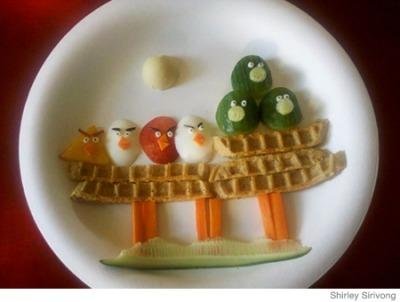 Food art από έναν άντρα για την έγκυο σύζυγό του | imommy.gr