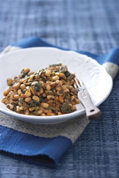 Φασόλια μαυρομάτικα με σπανάκι | imommy.gr