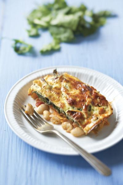 Φασόλια με σπανάκι και τυρί | imommy.gr