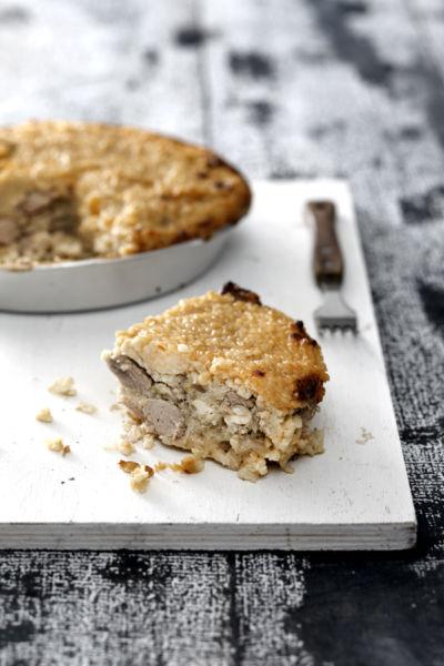 Πίτα με αρνάκι και τραχανά | imommy.gr
