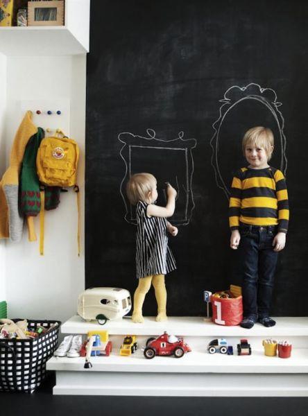 Deco: Μαυροπίνακας στο παιδικό δωμάτιο | imommy.gr
