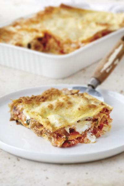 Λαζάνια φούρνου με λαχανικά | imommy.gr