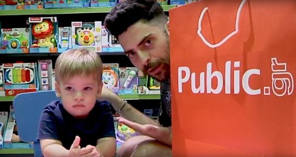 O Μικρός Δημήτρης κάνει Unboxing σαν επαγγελματίας! (Βίντεο) | imommy.gr