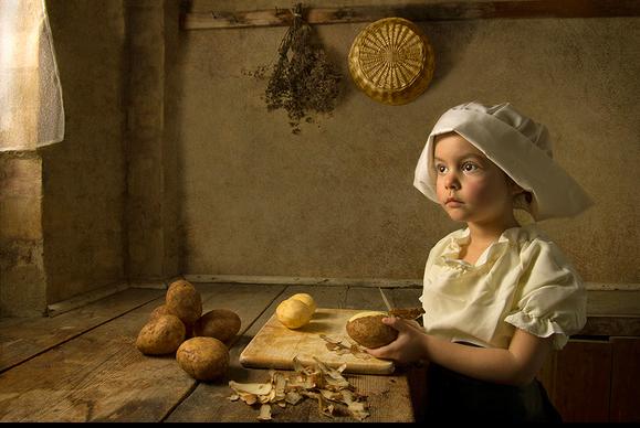 Εικόνες: Η πεντάχρονη που πρωταγωνιστεί στα πιο διάσημα έργα τέχνης! | imommy.gr