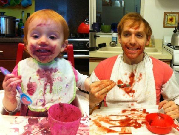 Εικόνες: Τι συμβαίνει όταν ένας μπαμπάς γίνεται παιδί; | imommy.gr