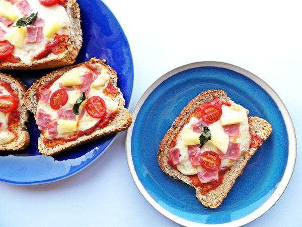 Πίτσα σε τοστ με τη βοήθεια του παιδιού σας | imommy.gr