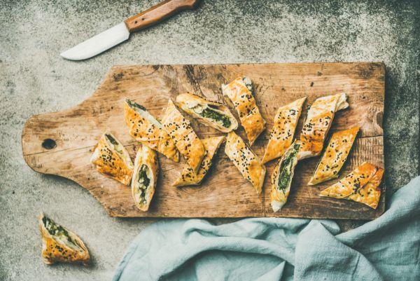 Μπάρες με σπανάκι και τυρί | imommy.gr
