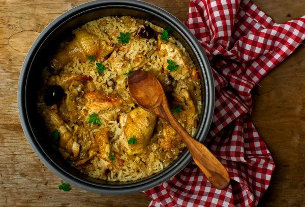 Άγριο ρύζι με γαλοπούλα | imommy.gr