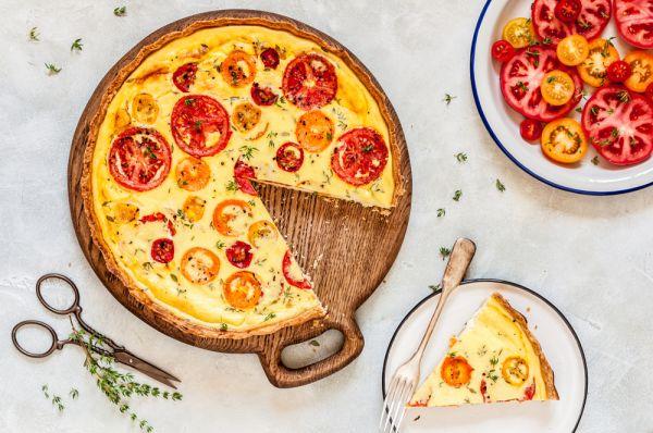 Τάρτα με ντομάτα και τυρί | imommy.gr