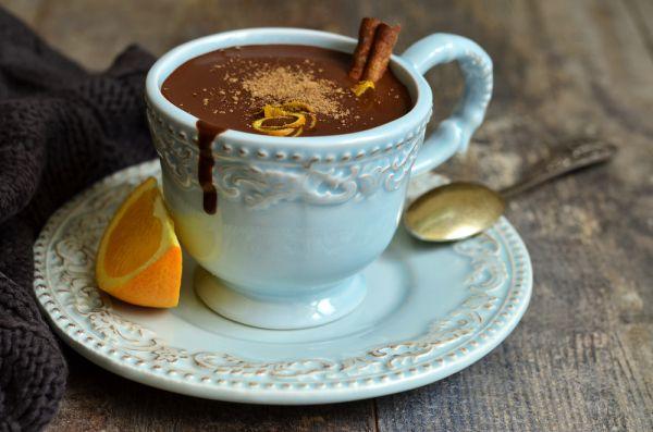 Ρόφημα σοκολάτας με πορτοκάλι | imommy.gr