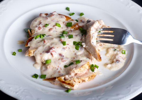 Στήθη κοτόπουλου με κρέμα γάλακτος | imommy.gr