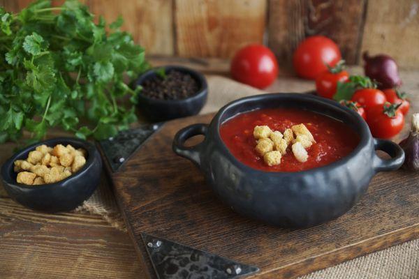 Ντοματόσουπα με βρώμη | imommy.gr