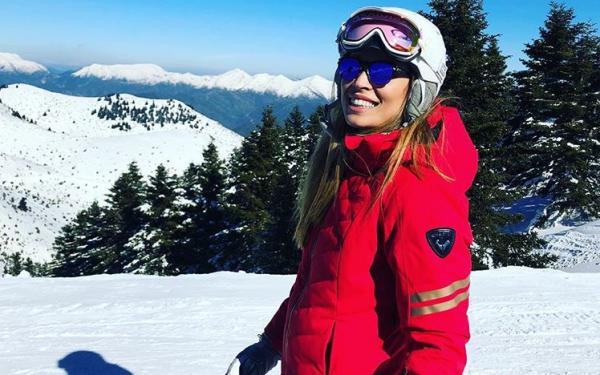 Μαριέττα Χρουσαλά: Οικογενειακή απόδραση στα χιόνια | imommy.gr