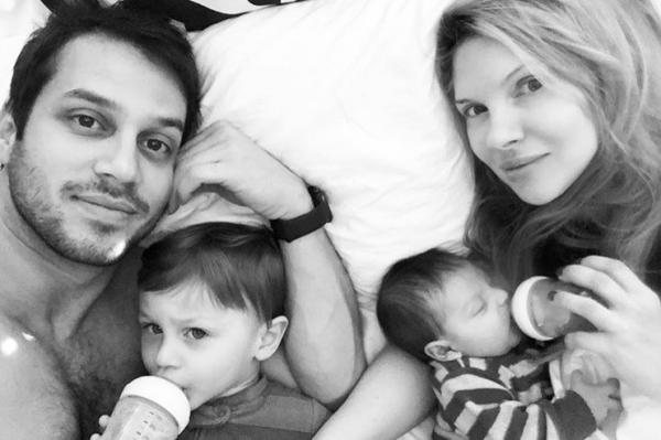 Χριστίνα Αλούπη: Βόλτα με τον νεογέννητο γιο της | imommy.gr