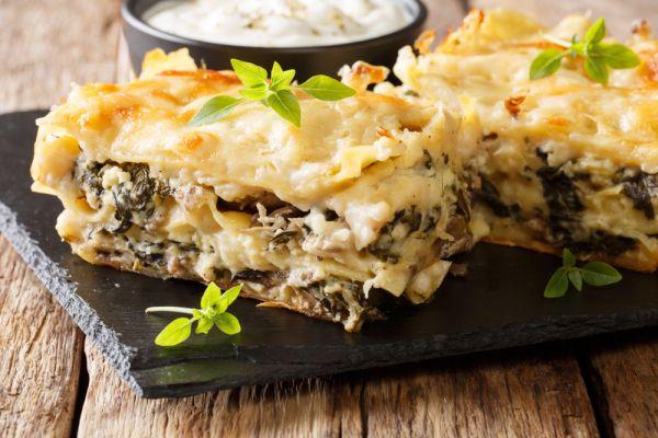 Λαζάνια με μπεσαμέλ και μανιτάρια | imommy.gr