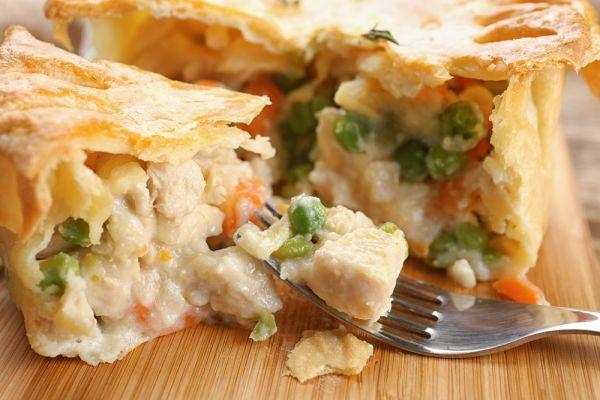 Πίτα με γαλοπούλα και λαχανικά | imommy.gr
