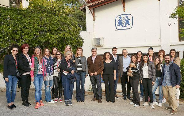 Επίσκεψη της DPAM στα Παιδικά Χωριά SOS | imommy.gr