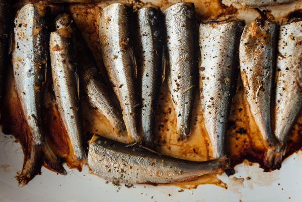 Σαρδέλες με σκόρδο στο φούρνο   imommy.gr