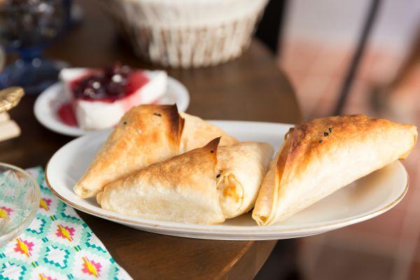Τυροπιτάκια με τυρί κρέμα | imommy.gr