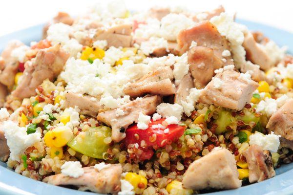 Σαλάτα με κινόα και κοτόπουλο | imommy.gr