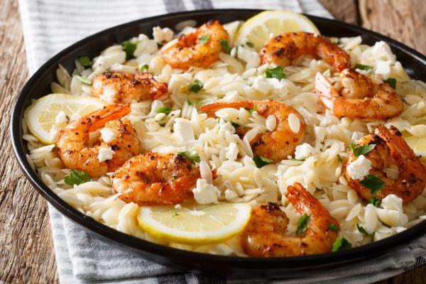 Γαρίδες με λεμόνι και παρμεζάνα | imommy.gr
