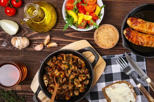 Ζεστή σαλάτα μανιταριών | imommy.gr