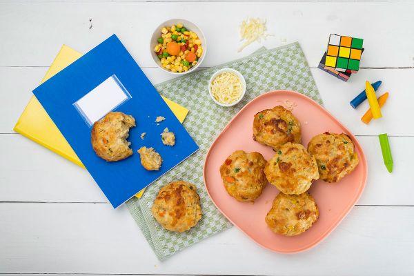Τυροψωμάκια με λαχανικά και κασέρι | imommy.gr