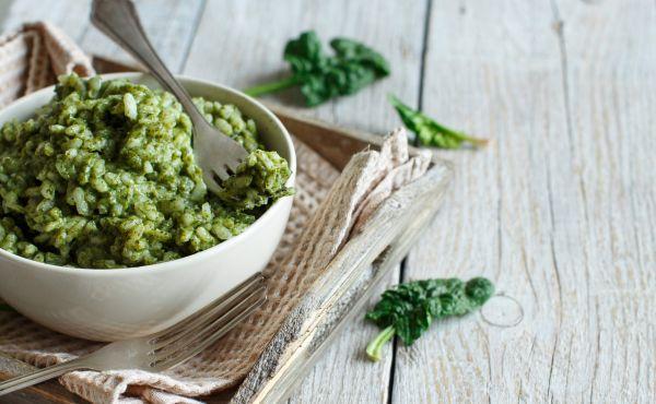 Φτιάξτε το πιο νόστιμο κριθαρότο με σπανάκι | imommy.gr
