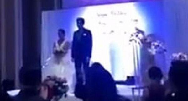 Χαμός σε γάμο : Ο γαμπρός έδειξε βίντεο της νύφης την ώρα που τον απατούσε [Εικόνες] | imommy.gr