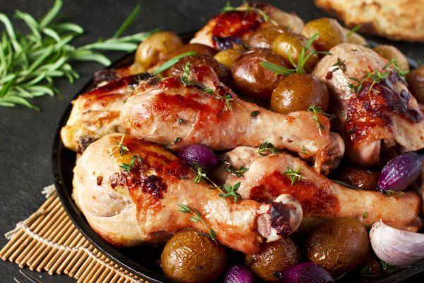 Κοτόπουλο λεμονάτο με πατάτες μπέιμπι | imommy.gr